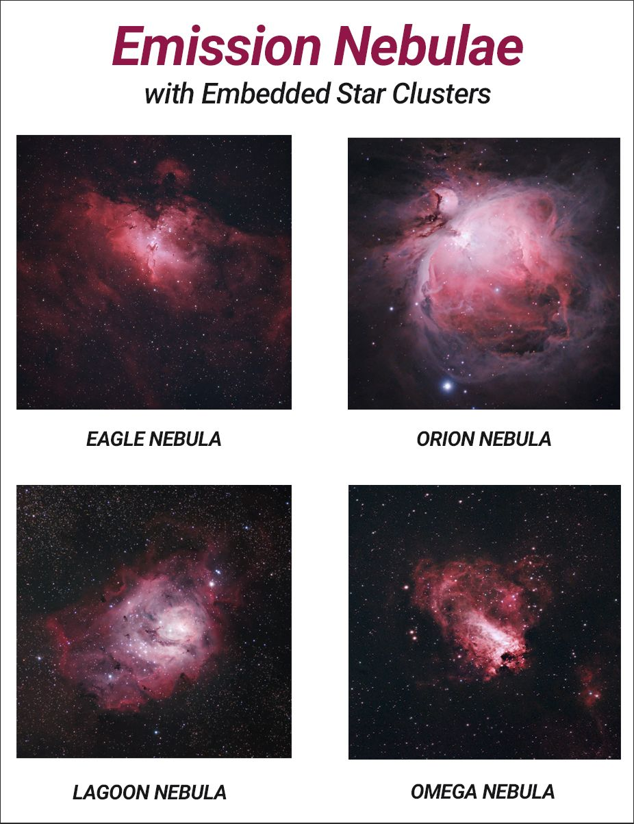 The Eagle Nebula Facts Photos And Location Of M16 In Serpens Eagle Nebula Orion Nebula Nebula