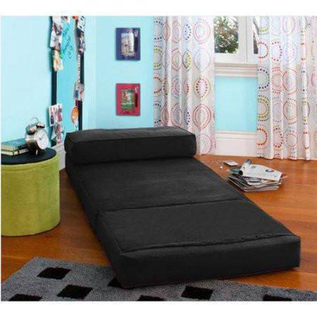 Kids Teens Convertible Flip Small Space Lounge Chair Bed