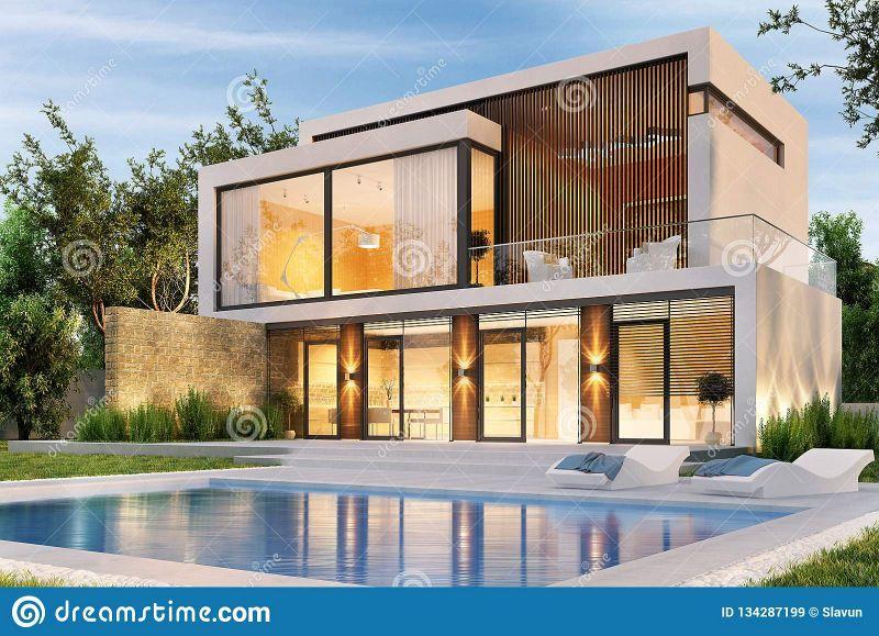 Best 10 Inspiring Modern House Duplex Design With Swimming Pool Modern House Design Dream House Exterior Modern Farmhouse Exterior