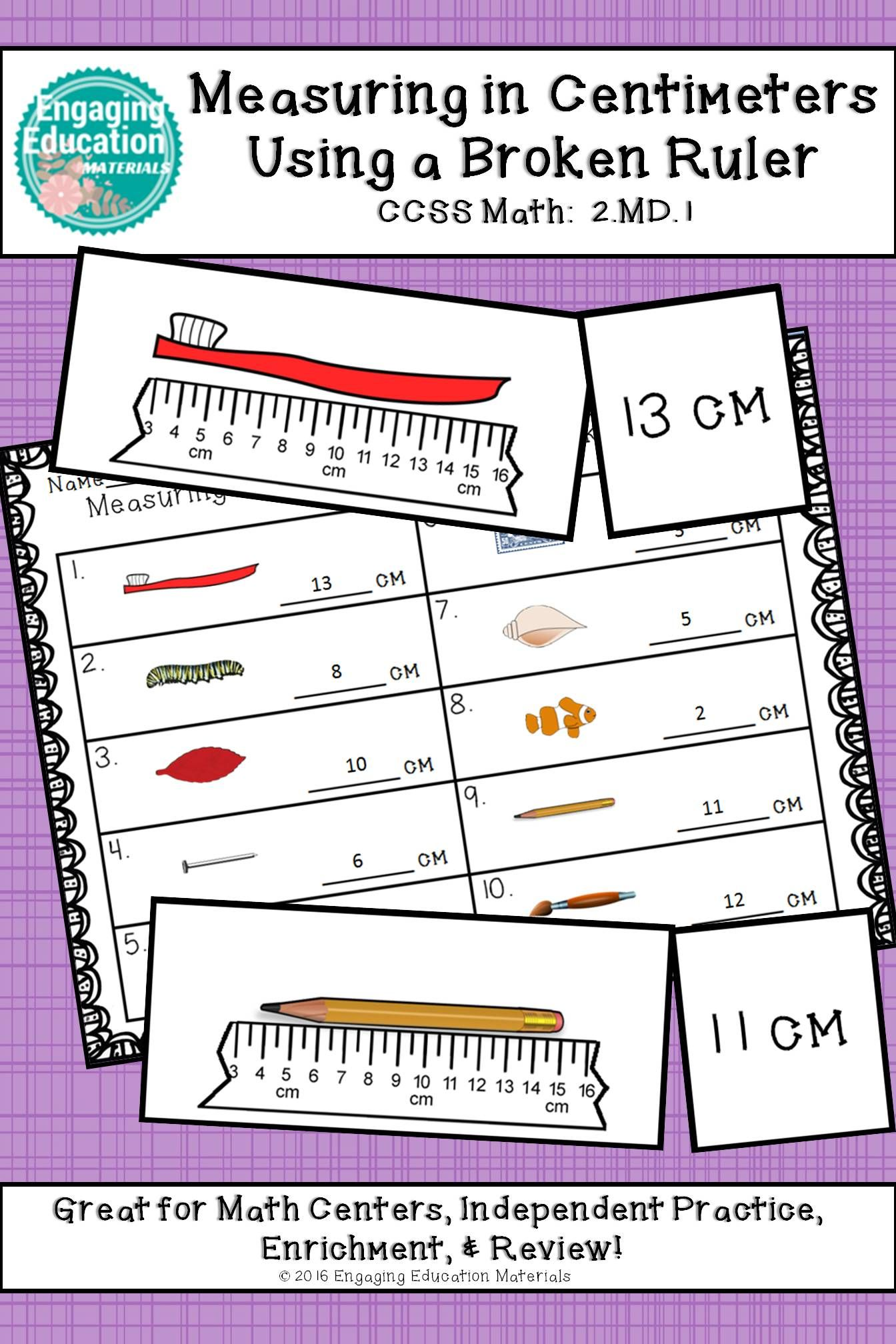worksheet Measuring With Centimeters measuring in centimeters with a broken ruler students and ruler