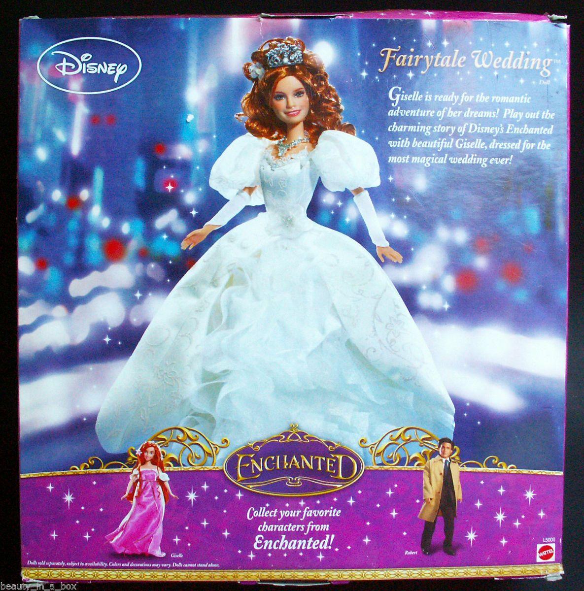 Amy Adams Disney Giselle Enchanted Film Doll Rare /& Beautiful!