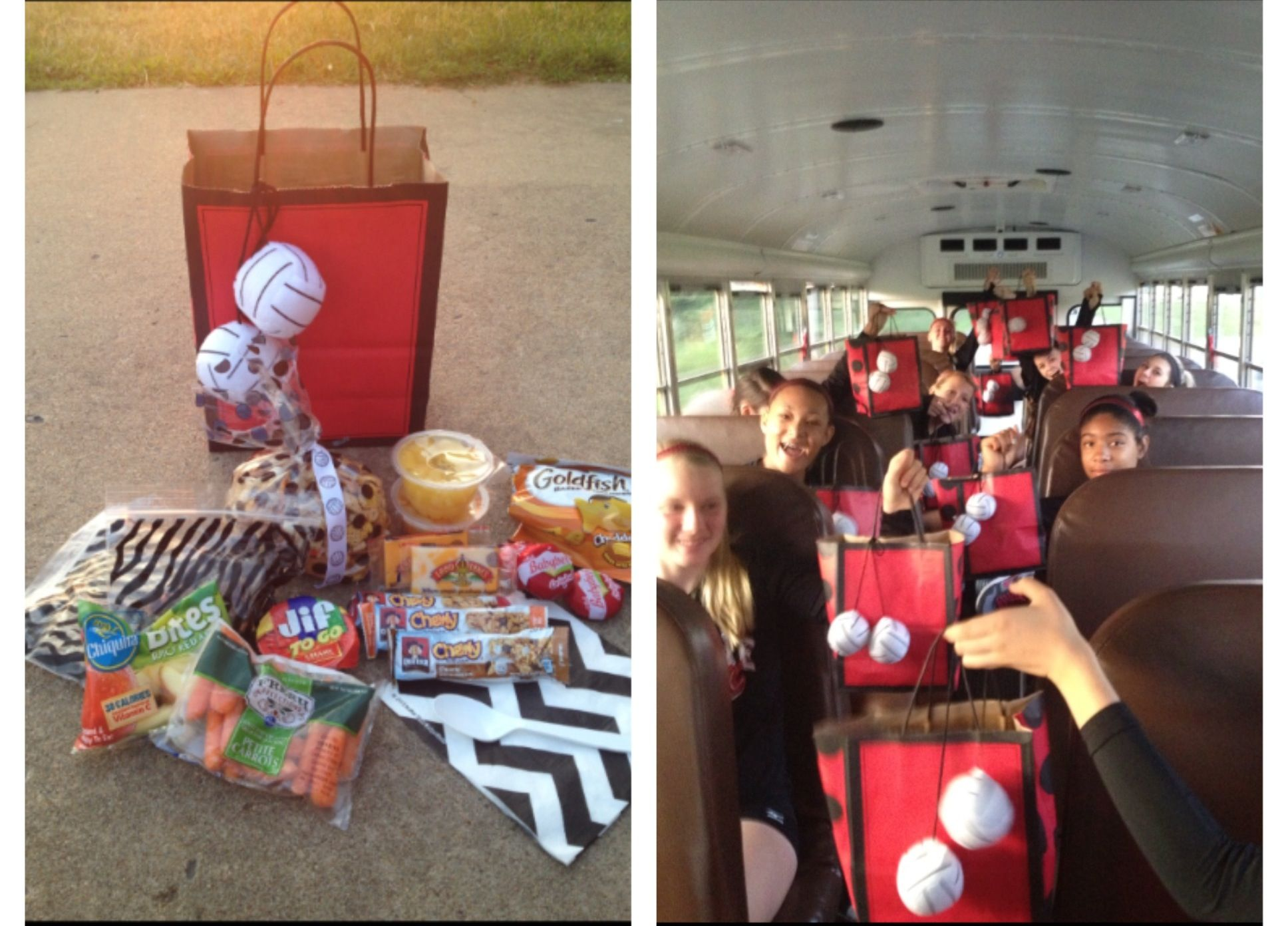 Volleyball Team Gifts Volleyball Snacks Volleyball Tournaments