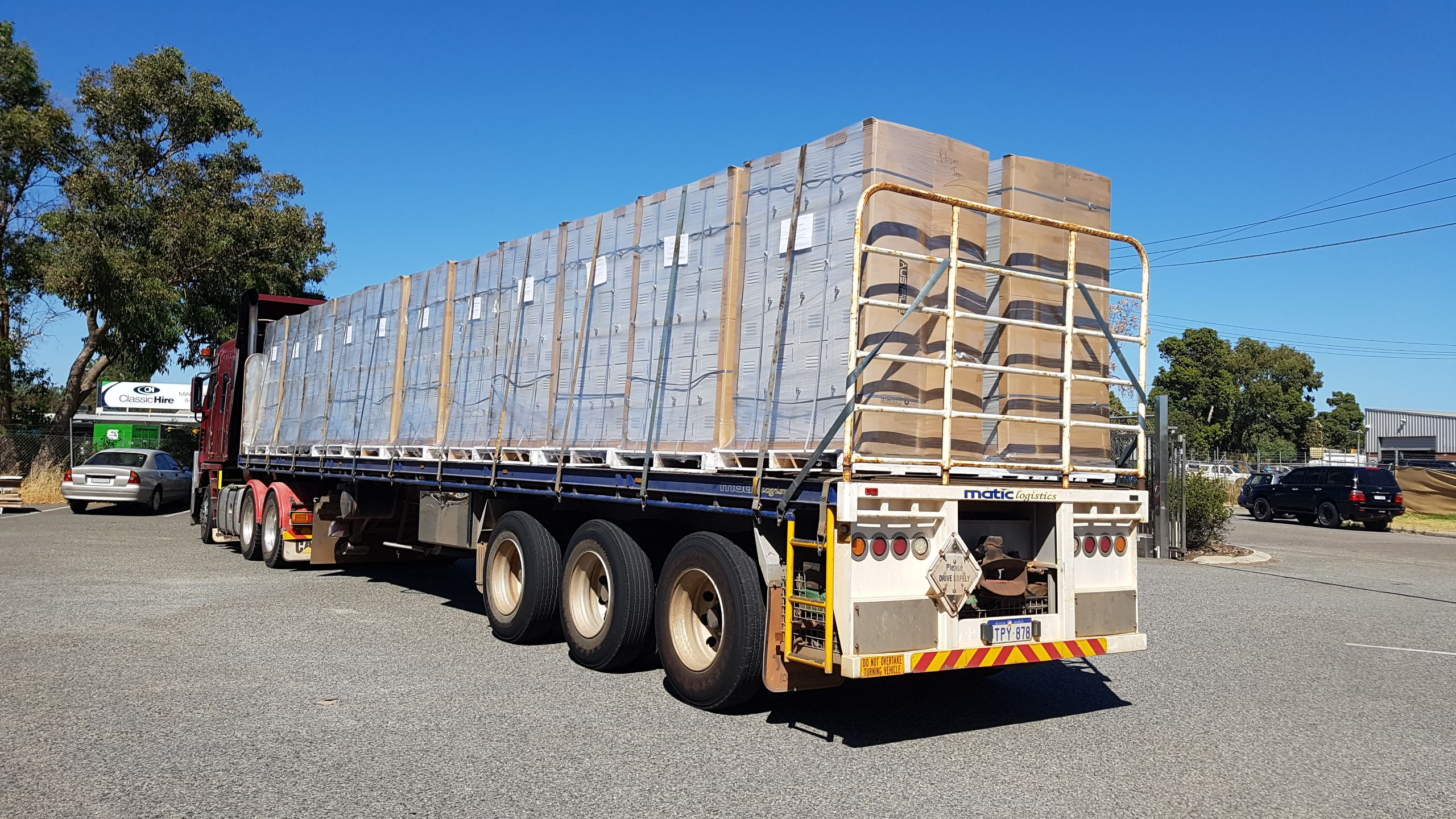 More Lockers heading up to the North West @Rio #mining @Access