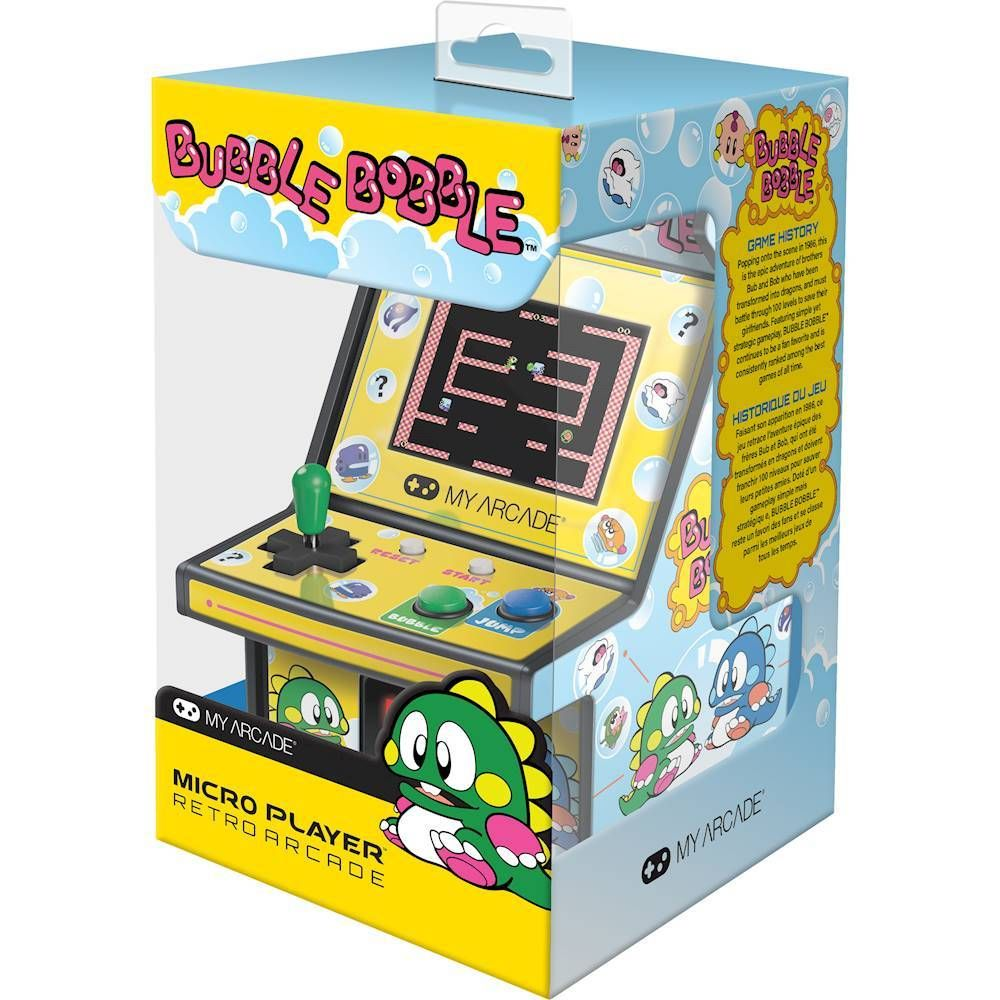 My Arcade BUBBLE BOBBLE Micro Player Yellow/Blue