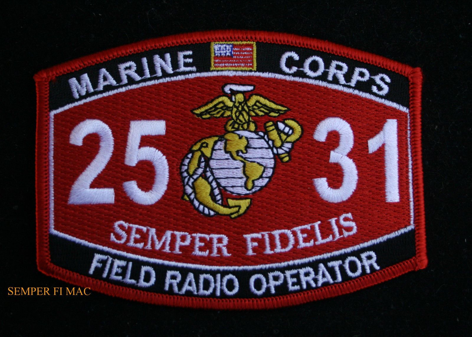 Patches 2531 Field Radio Operator MOS Patch Surplus