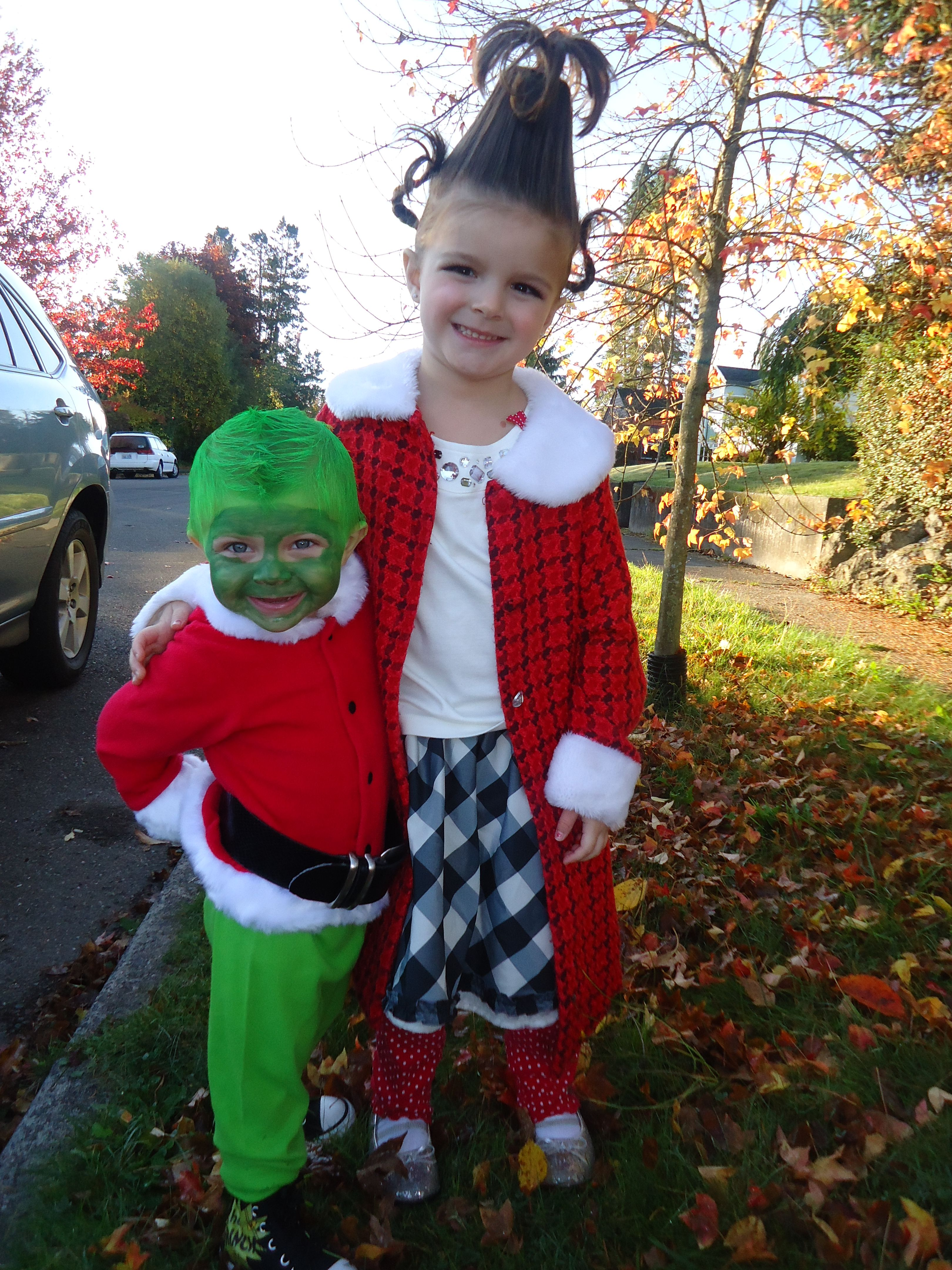 grinch and cindy lou who halloween costumes  sc 1 st  Pinterest & grinch and cindy lou who halloween costumes | holidays | Pinterest ...