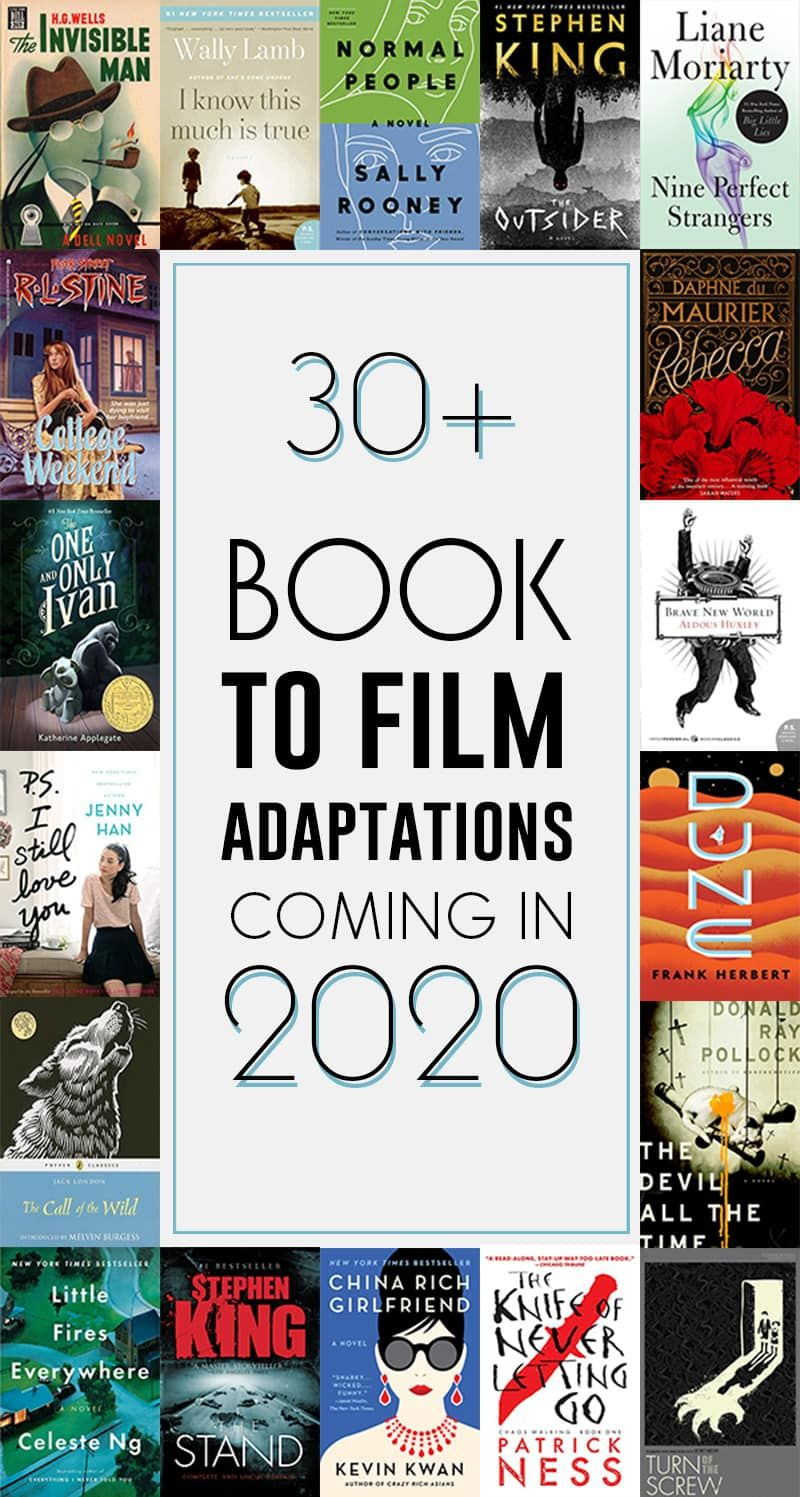 New Books 2020.Books To Film 2020 40 Movies Based On Books Coming In 2020