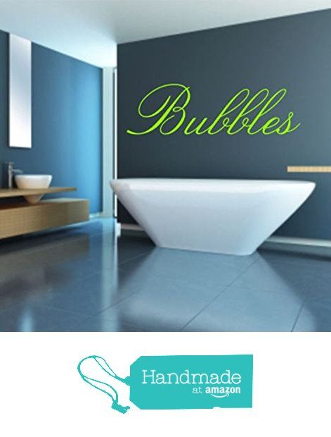 Bubbles Quote Vinyl Wall Art Sticker Mural Decal Home