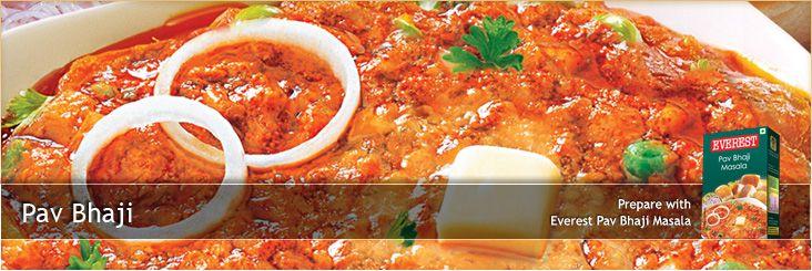 Pav Bhaji - Everest Spices | Food! | Pav bhaji, Bhaji recipe