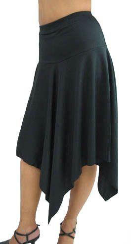 Black Asymmetrical Skirt Plus Size 1x 2X 3X 4X 5X   eBay