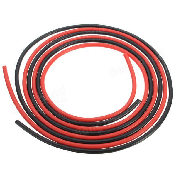 DANIU 12 AWG 10 Feet 3M Gauge Silicone Wire Flexible Stranded ...