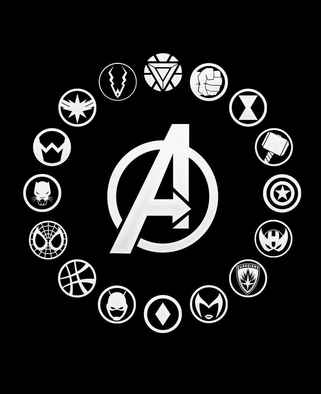 Photo of MARVEL – Avengers Infinity War – Heroes Icons.