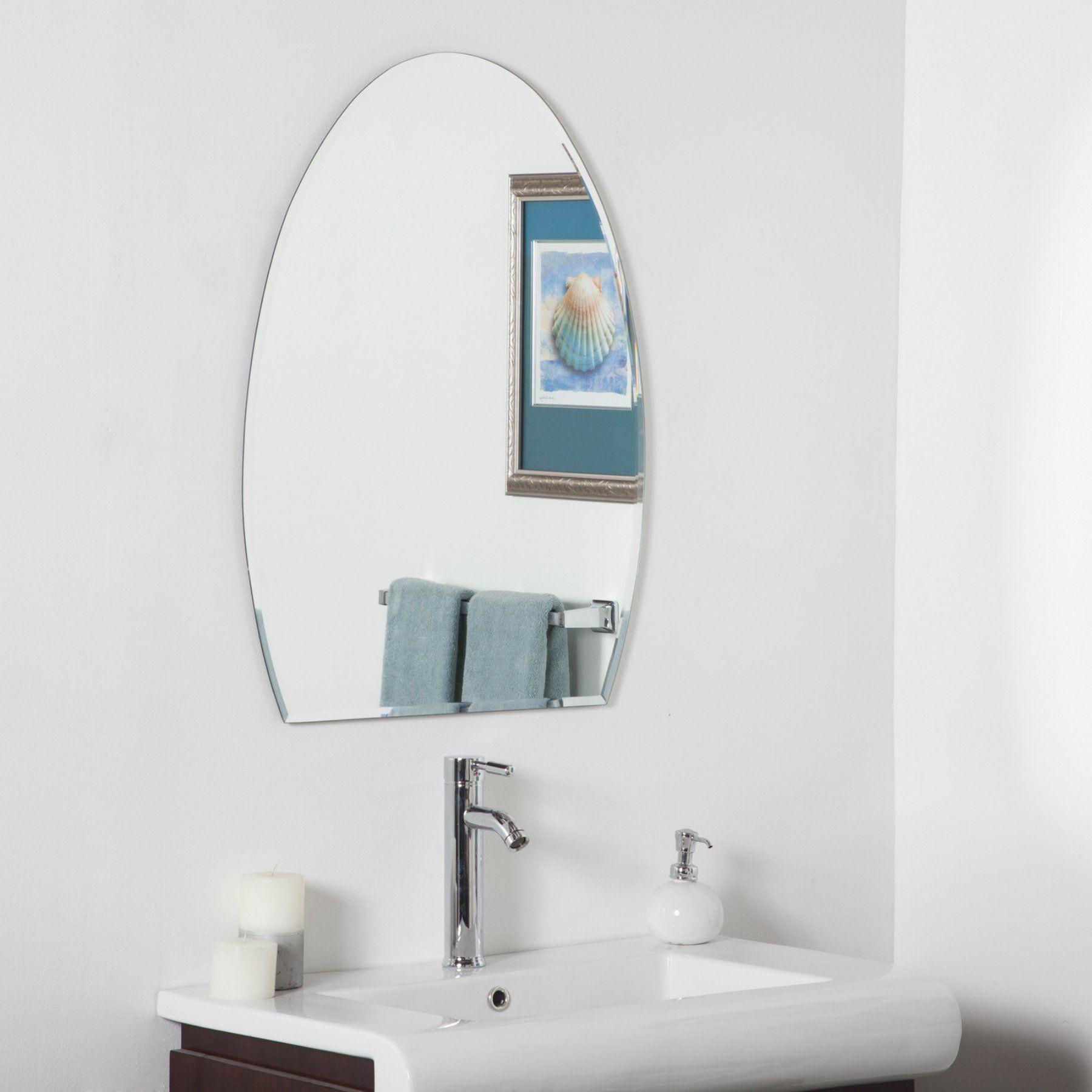 Décor Wonderland Sena Modern Bathroom Wall Mirror - 24W x 32H in ...
