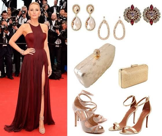 5b521cec3a198 Veja aqui que cor de sapato ou sandália combinar com vestido de festa da