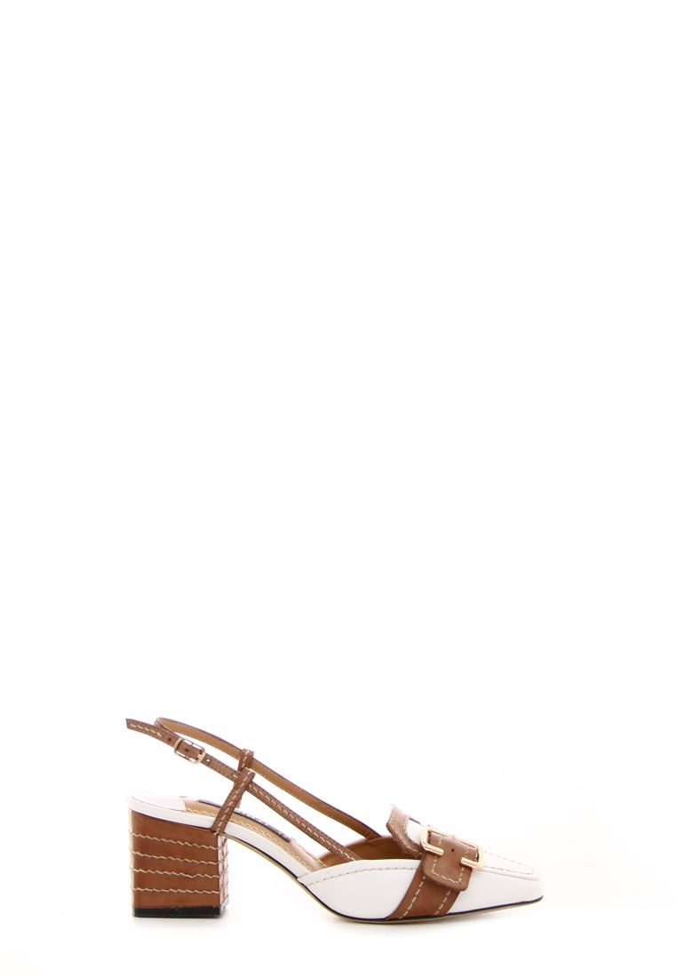 Fibbia In Sandalo Pelle Dorata Cinti Biancocuoio E Metallo qMVpGSUz