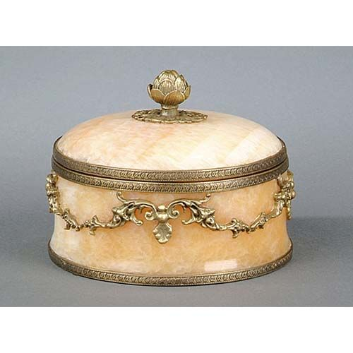 Round Alabaster Box I M Going To Get My Nieces One Of These And