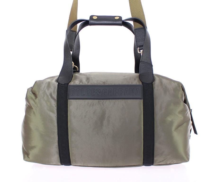 78bce62a6942 Green nylon unisex boston bag Absolutely stunning