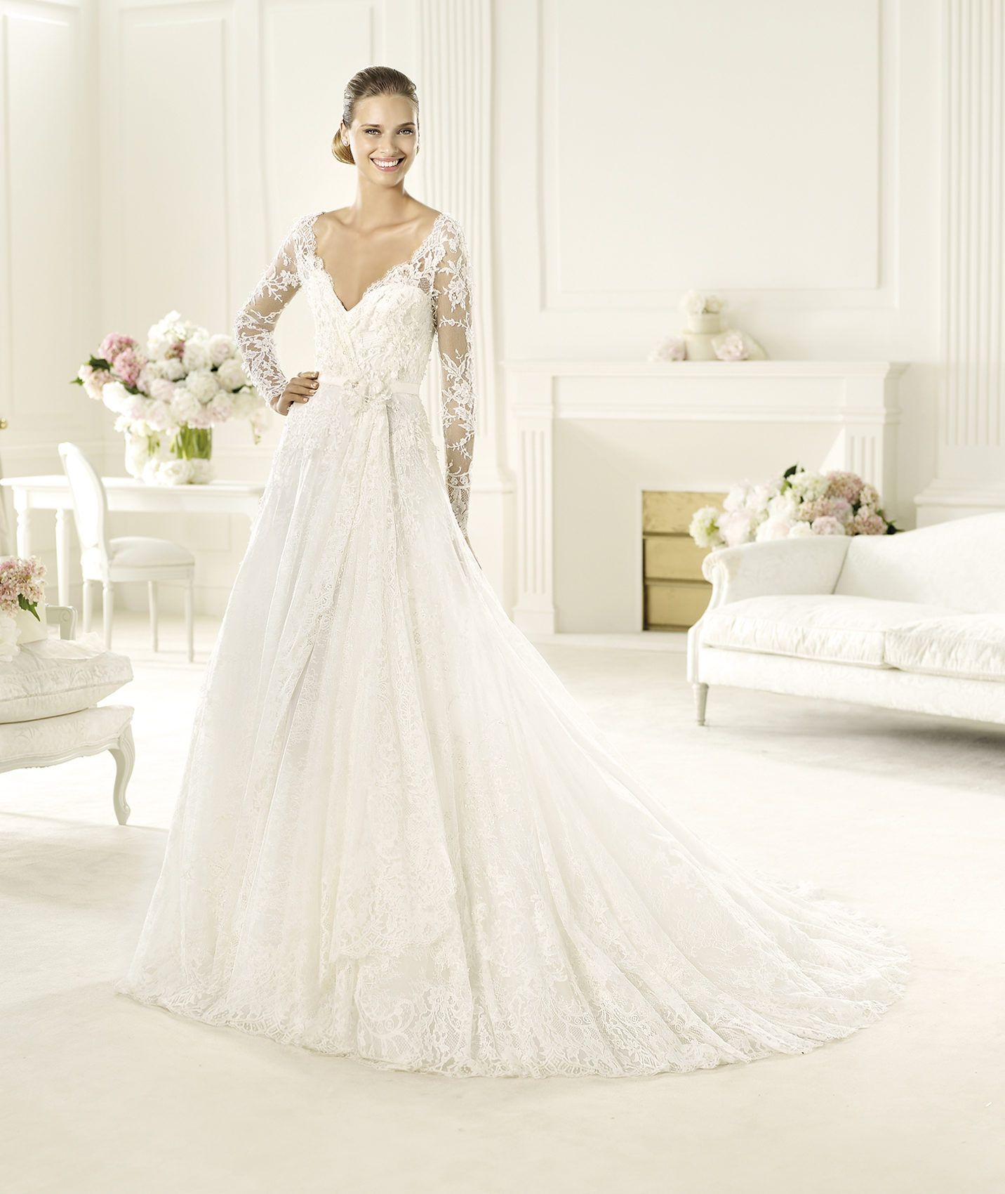Elie Saab Wedding Dress 2014 Pronovias Bridal | 2014 Wedding Dresses ...