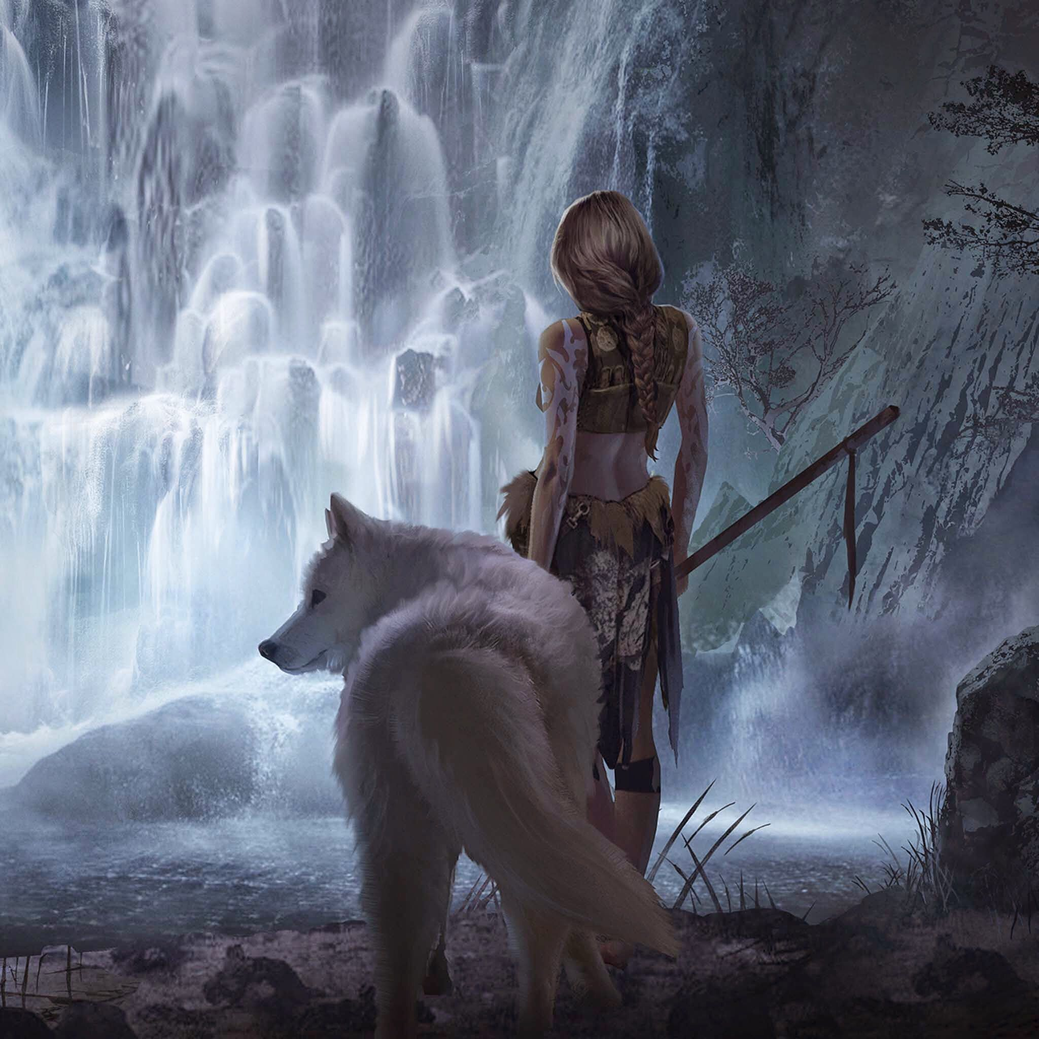 Image result for fantasy wolf Fantasy Art Pinterest