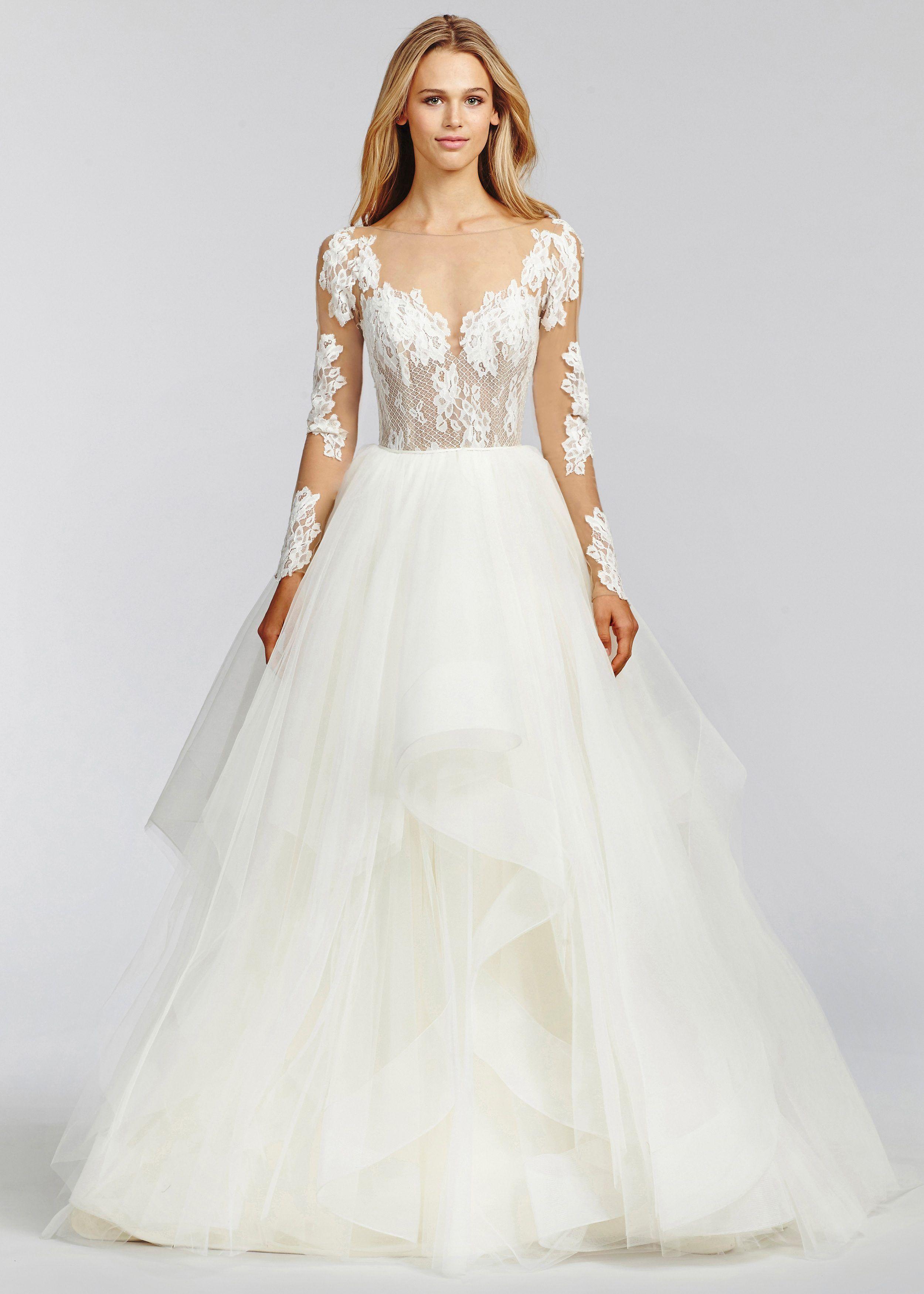 b2a0fec6e Blush by Hayley Paige 1652 Pippa | Hopeless romantic | Wedding ...