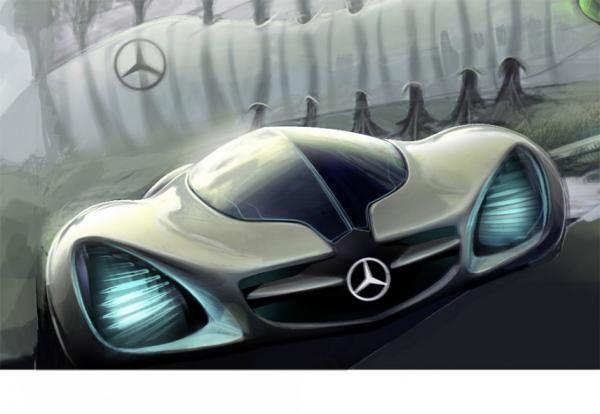 The Mercedes Biome Concept | Mercedes-Benz | Картинки Машины Будущего Ауди