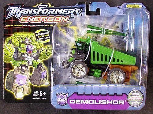 Transformers Armada Demolishor Missile 1 Deluxe Hasbro