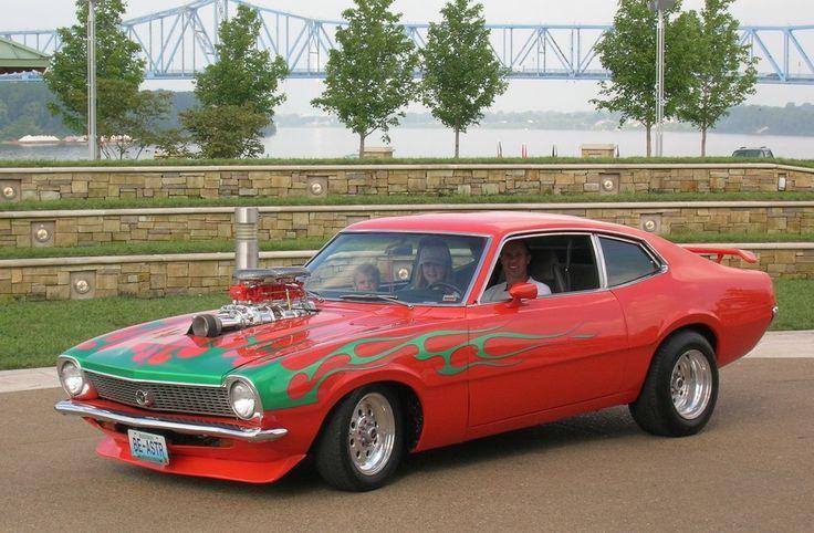 Flamed Ford Maverick Ford Mavericks