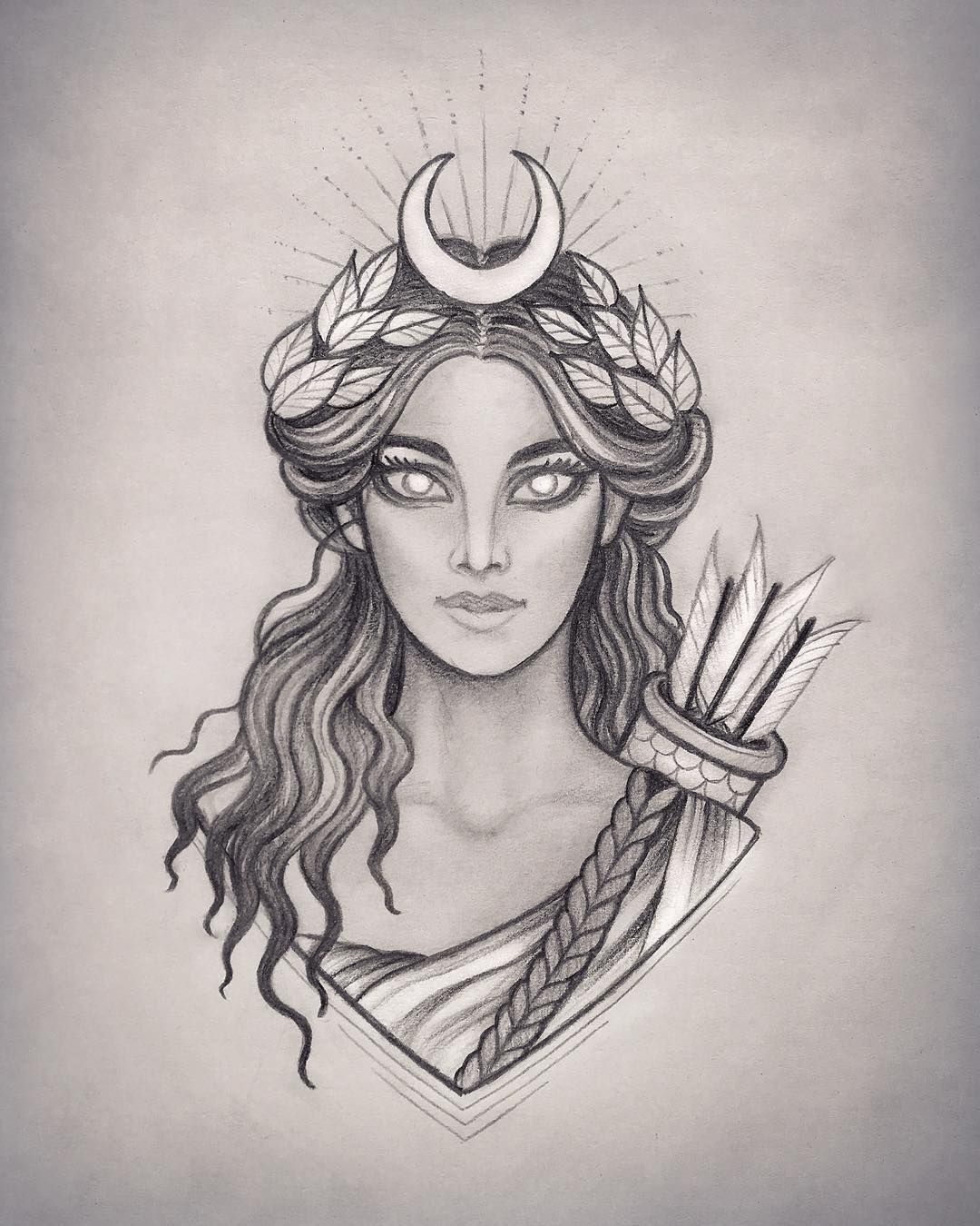 Diana Roman Moon Goddess Of The Hunte Is Also Known As