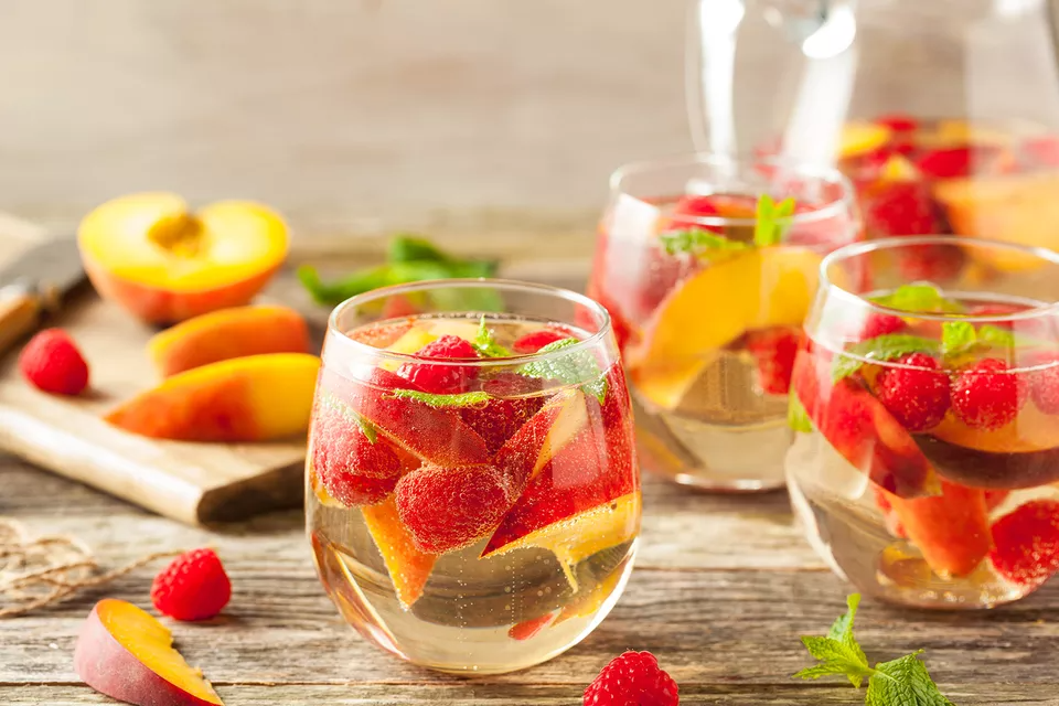 White Wine Sangria With Summer Fruits Recipe
