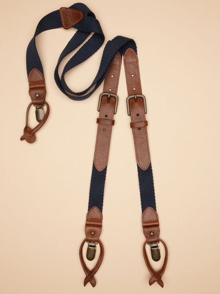 LEATHER SUSPENDERS | This & That | Leather suspenders