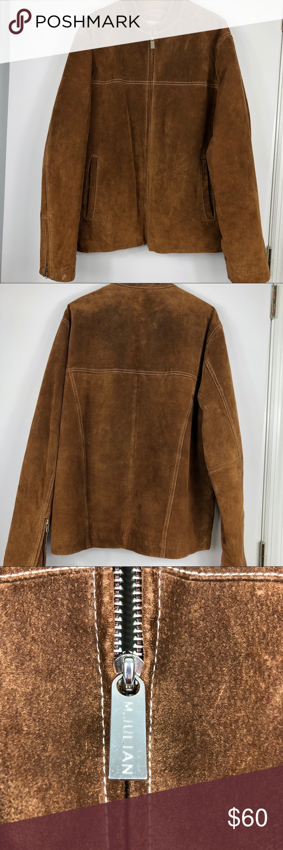 Wilsons Leather Men's Suede Jacket Wilsons Leather M