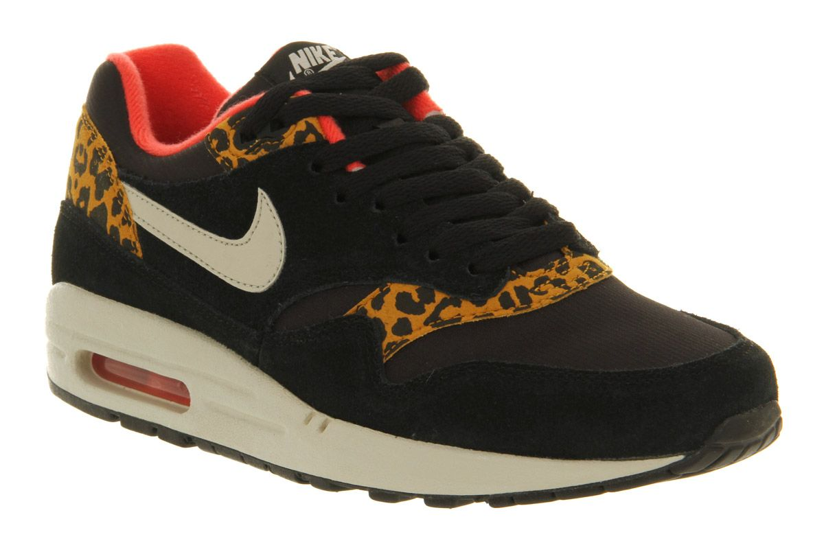 official photos 38ed0 10ec1 leopard print | Nike Air max 1 black gold leopard :D | | leopard ...
