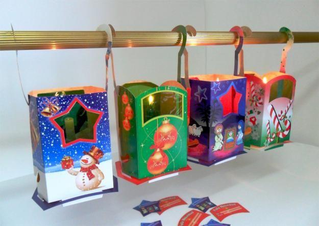db5dbe7f7 Cómo Hacer Faroles Para Navidad   Navidad   Hacer faroles, Faroles ...