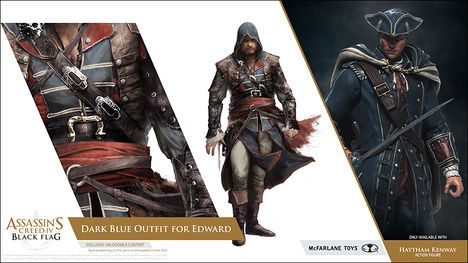 Outfits Assassin S Creed Iv Black Flag Wiki Guide Ign Black Flag Assassins Creed Edward Kenway Costume