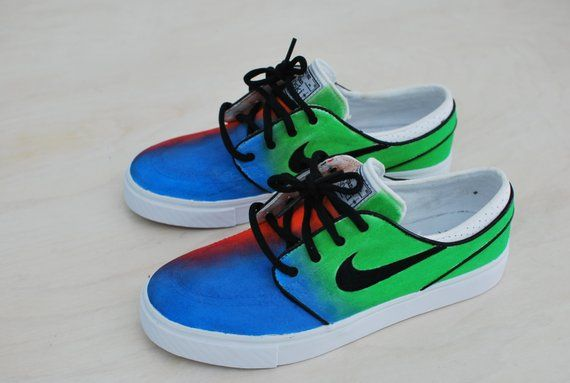 3d3ad3e07a2a Tie Dye Nike Zoom Stefan Janoski Skate Shoes