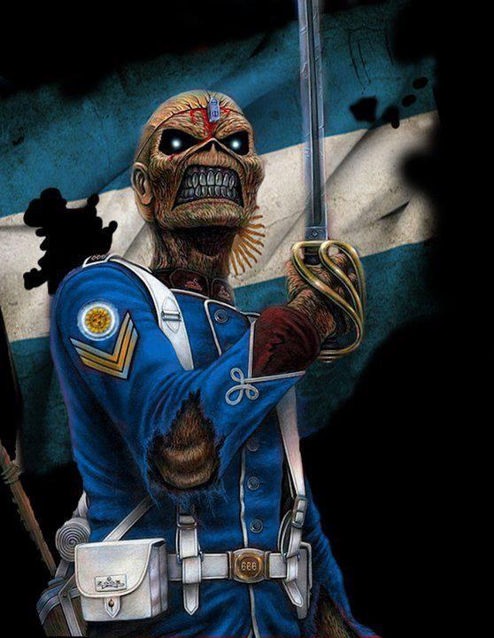 The Trooper Argentina Carteles De Rock Bandas De Heavy Metal Bandas De Rock