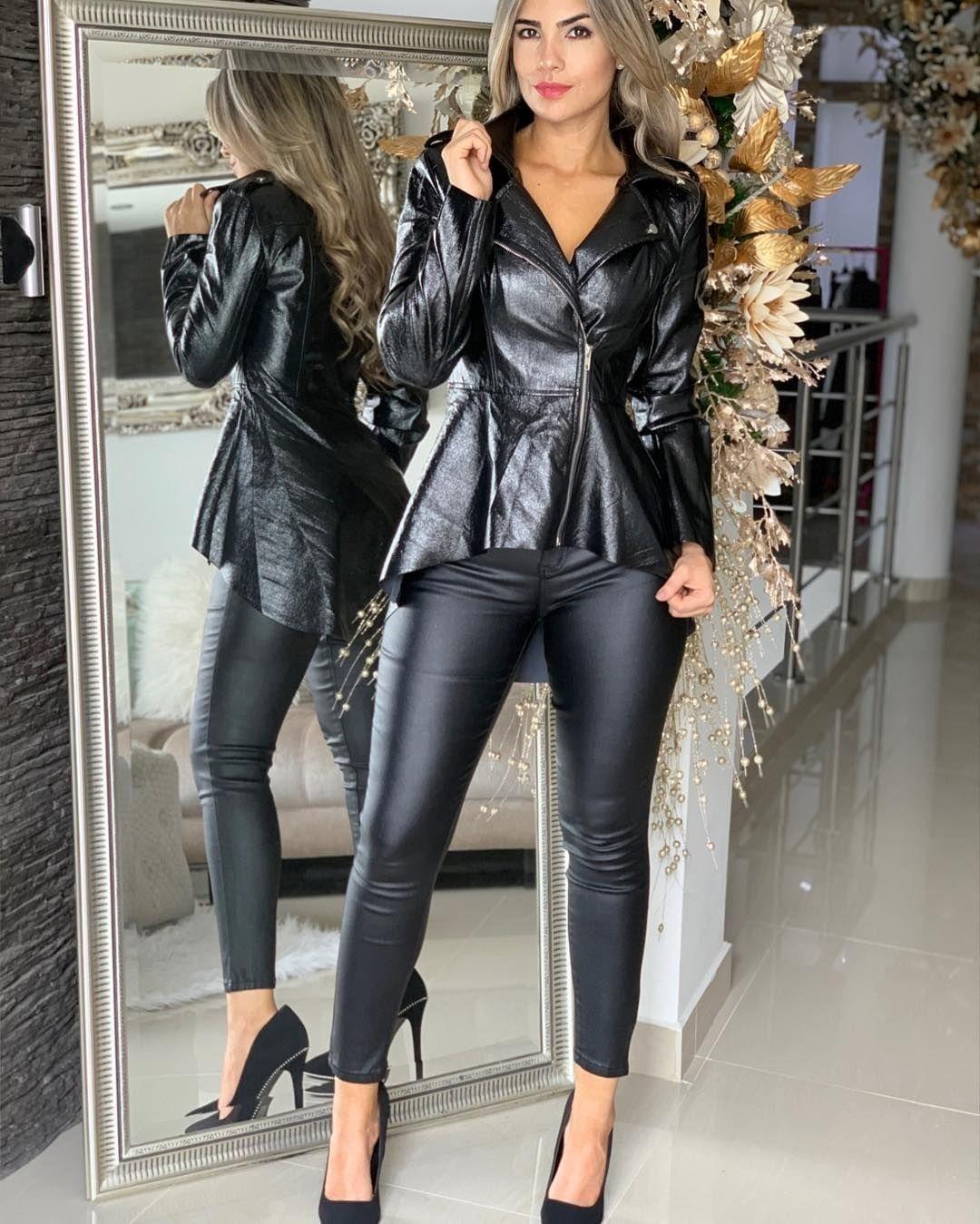 Lederlady ️ | Kleidung, Schwarze kleidung, Bekleidung
