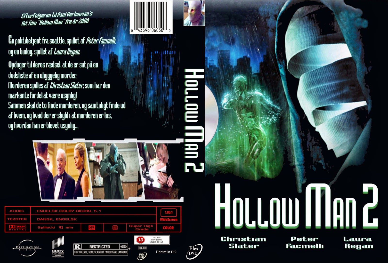 Hollow Man 2 DVD Hindi Dubbed Hollywood Movie Film Cinema Free Download in AVI and 3GP