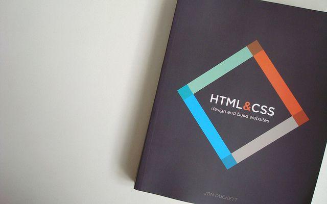 Html Design And Build Websites By Jon Duckett Design Html Css Website