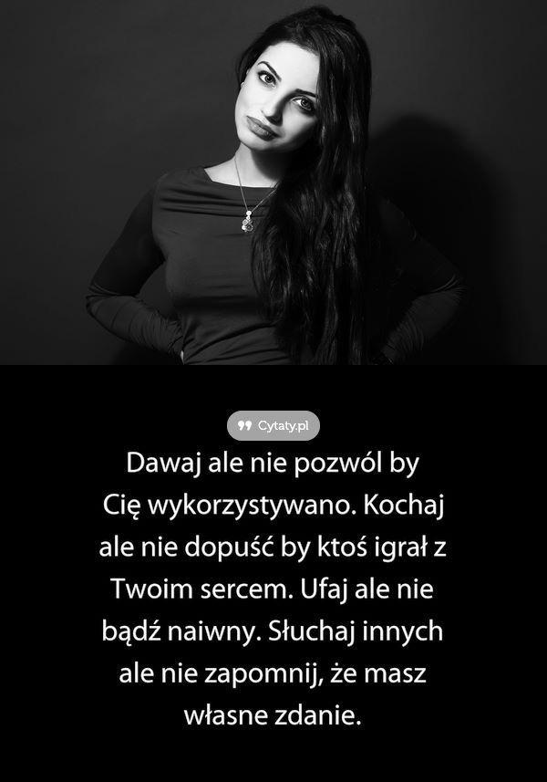 Pin Na Cytaty Sentencje Mysli