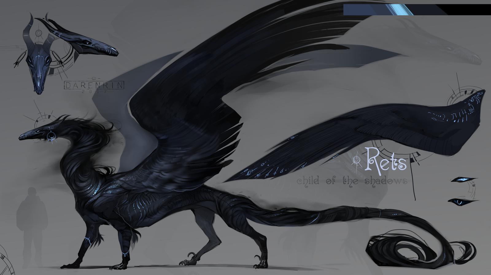 shadow dragon shadow creatures