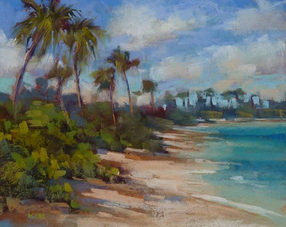 Pastel Painting Lesson Demo Pdf How To Paint The Beach Art