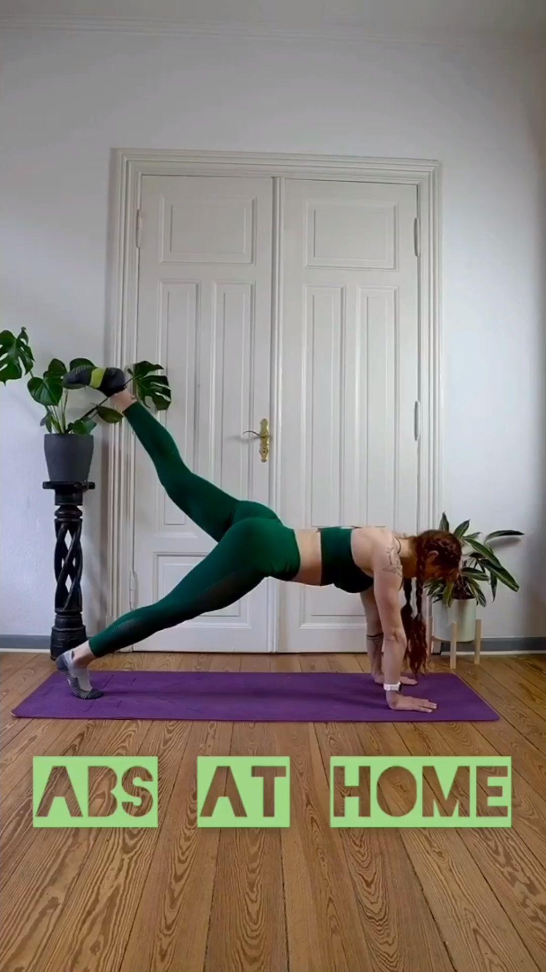 Bauchtraining zuhause - 5 kreative Übungen für den Bauch