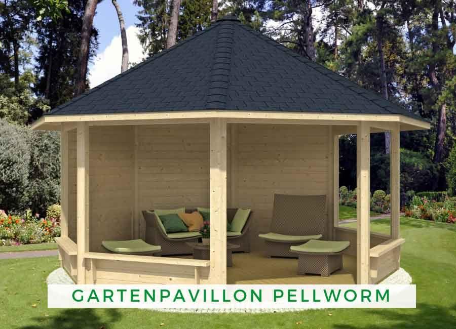 Gartenpavillon Modell Pellworm in 2020 Garten pavillon