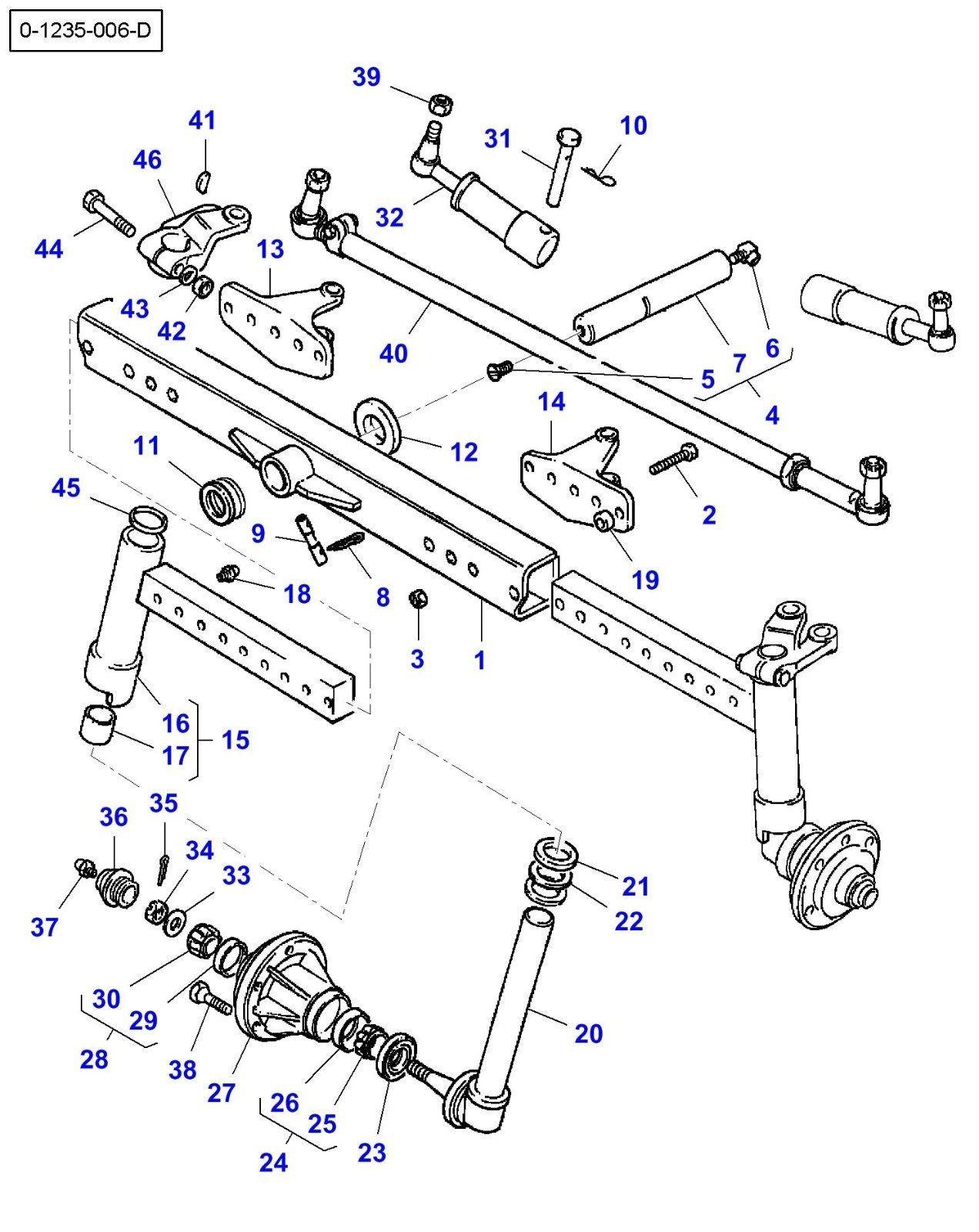 Tie Rod U91 For Massey Ferguson 230 240 240s