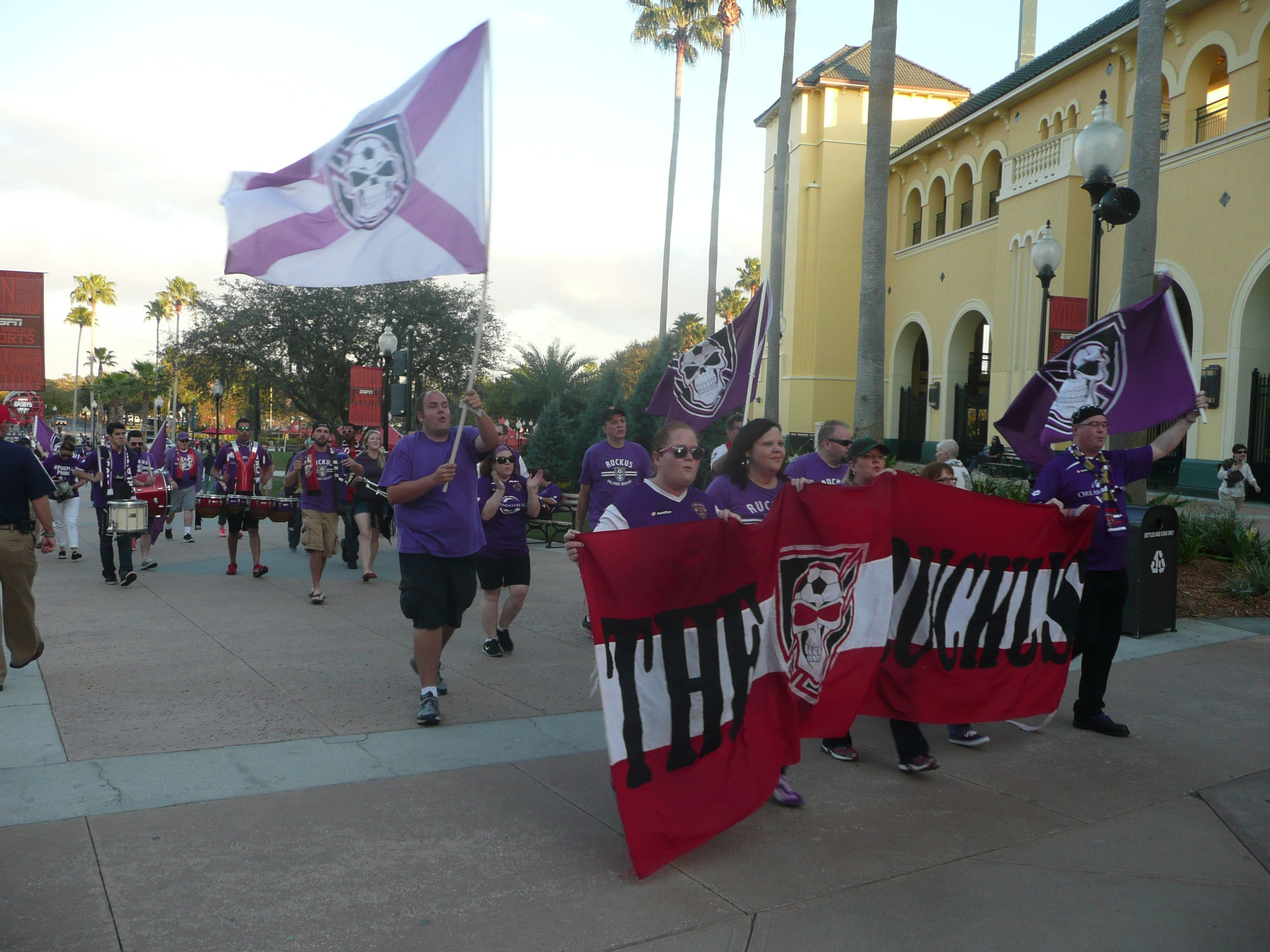 March to the match Orlando City