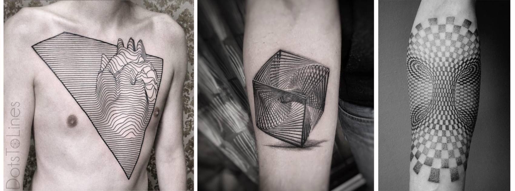 Formas Geometricas Tattoo Designs