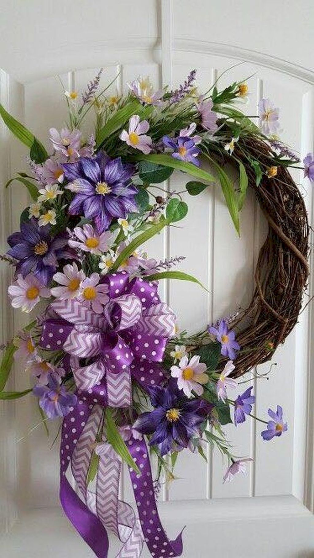 38 Fresh and Beautiful Spring Wreath Decor Ideas Diy