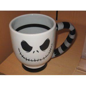 Disney Jack Skellington Ceramic Mug - Nightmare Before Christmas