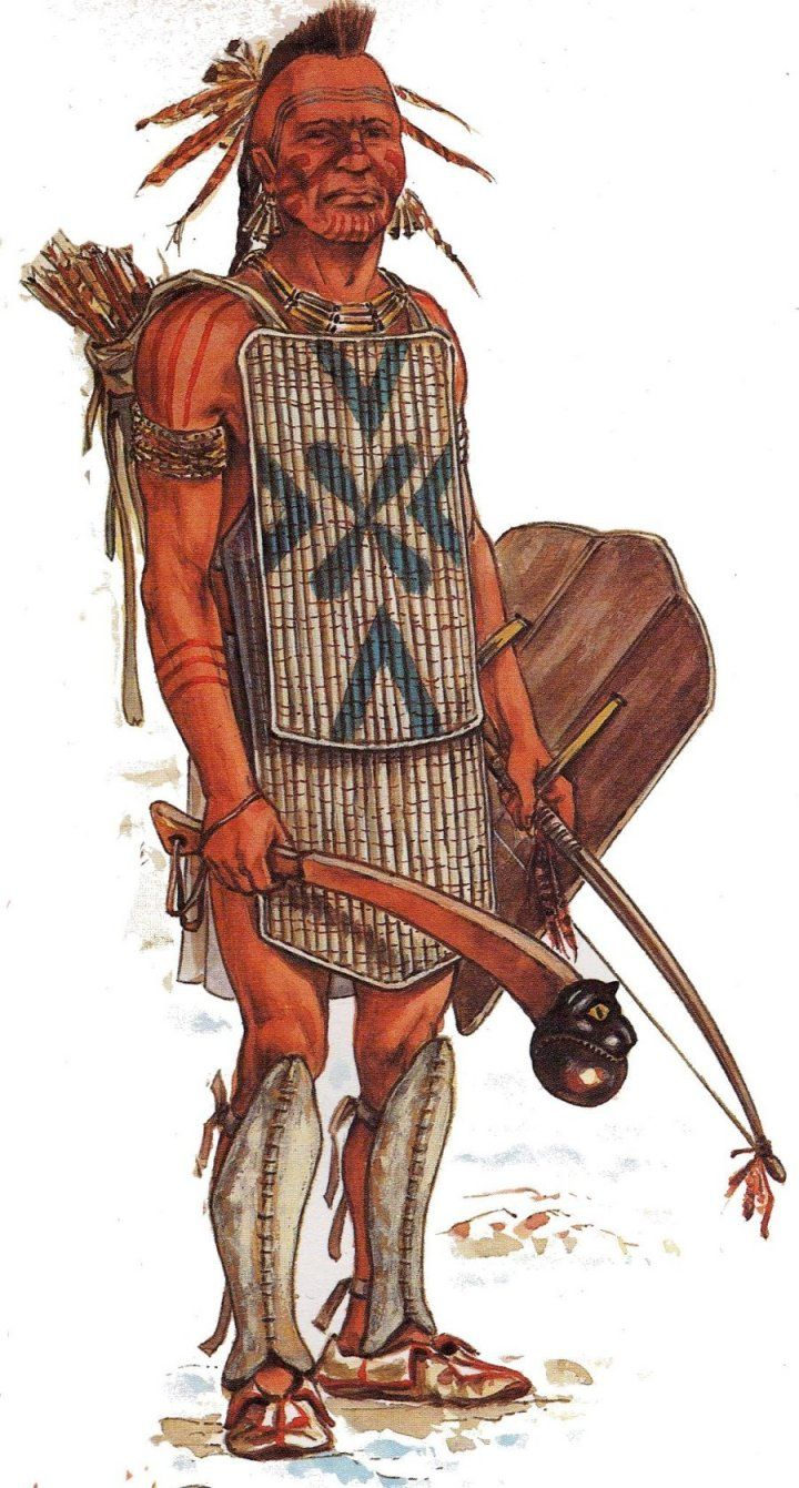Huron warrior   Indians of the Eastern Woodlands   Native ...